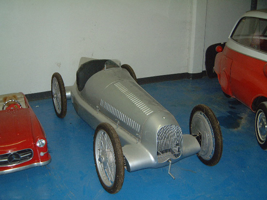 1930s Mercedes Benz Grand Prix Racer
