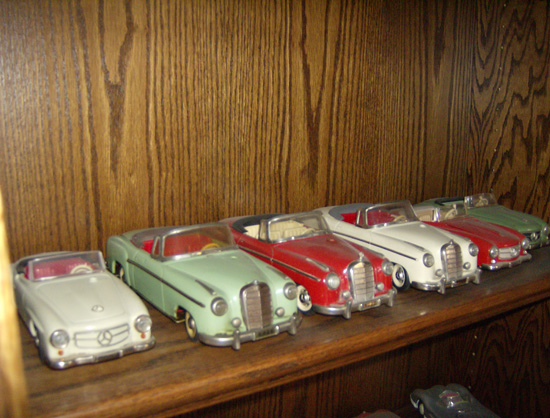 Tippco and Schuco, Mercedes - Various Rare Models