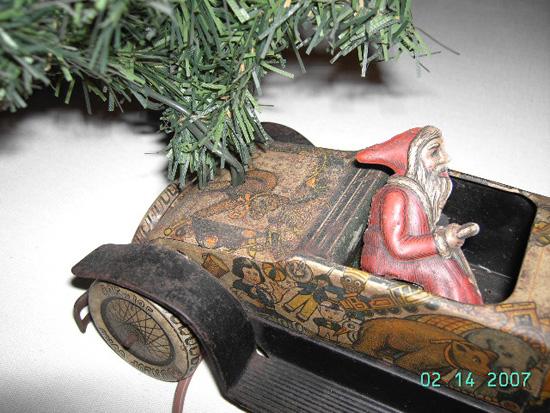 Tippco Santa Car