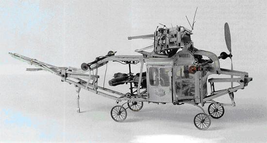 Aeroplane Bouillot Brevete Helicopter