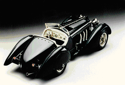 Mercedes Benz Black Prince SSK