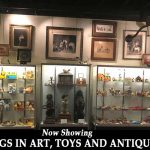 Antique Car Toy Display Can be Found at DFW Elite Toy Museum