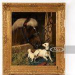 DFW Elite Toy Museum Auctions Antique Dog Art & Collectibles